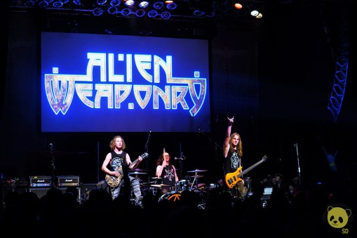 Alien Weaponry at House of Blues by Jackie Ferguson