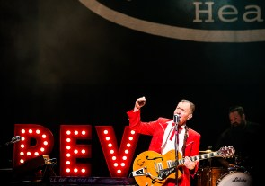 Reverend Horton Heat at Observatory North Park by Kristy Walker