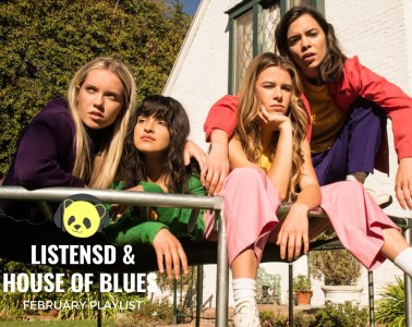 HOUSE OF BLUES X LISTENSD FEBRUARY PLAYLIST
