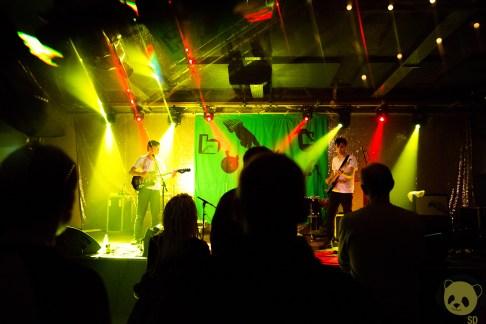 Gong Gong Gong at Brudenell Social Club by Natasha Koziarska