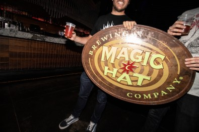 Thanks to Magic Hat for Bringing the Vibes