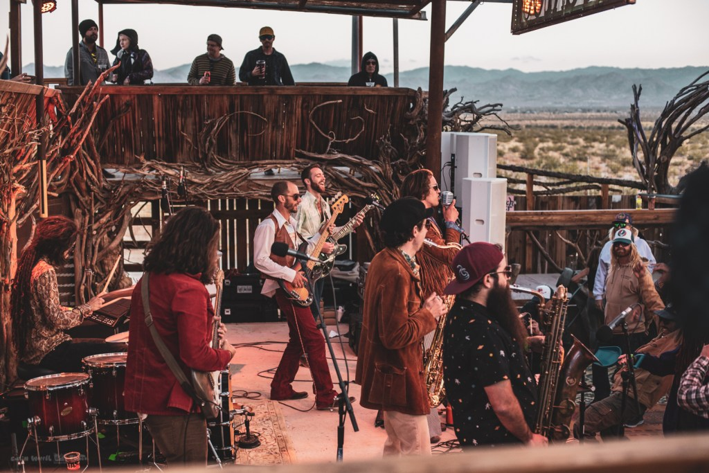 Diggin Dirt at Joshua Tree Music Festival, photo by Collin Worrel