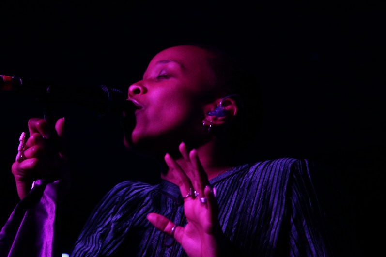 Jamila Woods at the Casbah by Patrick Everett for ListenSD