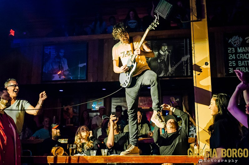 Black Pistol Fire at Belly Up by Sylvia Borgo for ListenSD