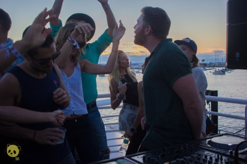 Goldroom on the High Seas Boat Tour by Rachel Frank for ListenSD