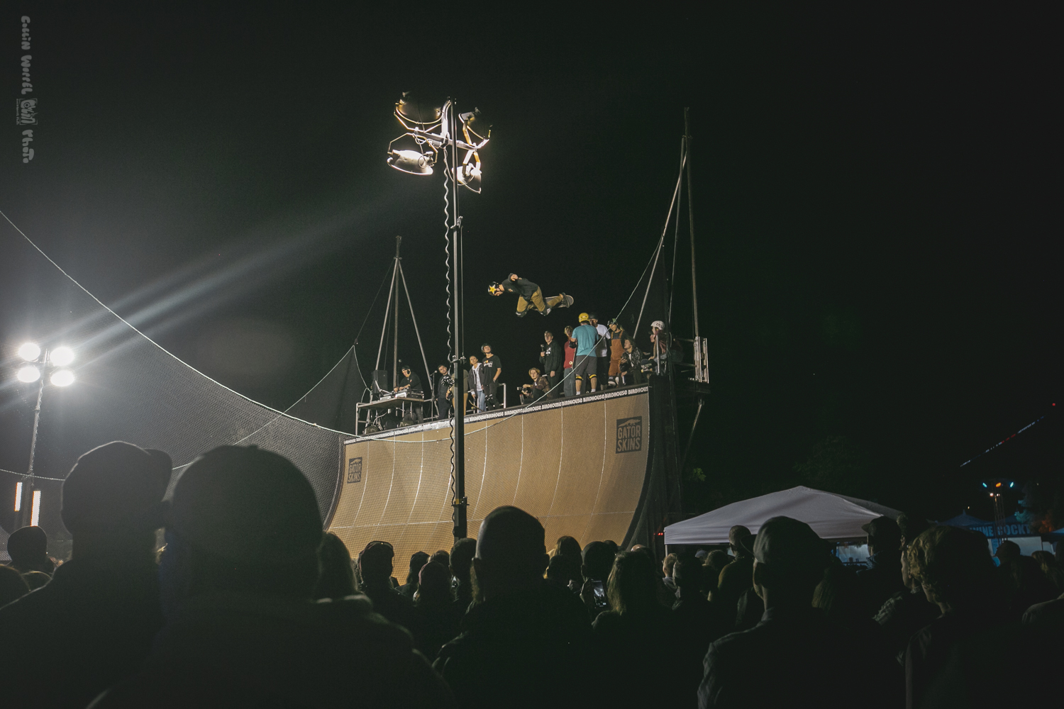 Tony Hawk's Half Pipe at Wonderfront Festival 2019 by Collin Worrel for ListenSD
