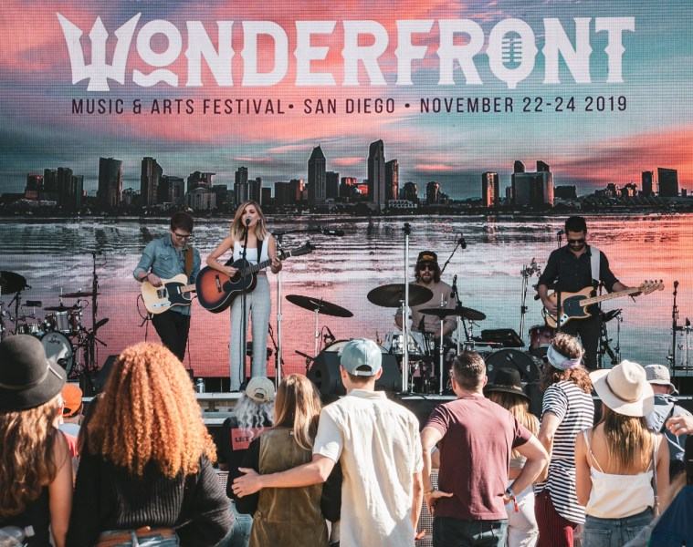 Haddon Cord at Wonderfront Festival 2019 by Collin Worrel for ListenSD