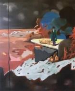 Anna Eisermann, damals, 2011,120x100 cm, Öl auf Leinwand