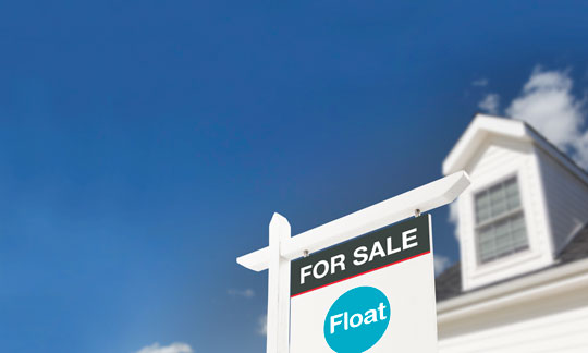 Float For Sale Sign