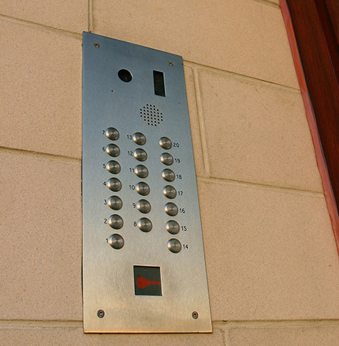 Apartment Call Box
