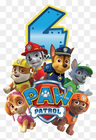 Free Png Paw Patrol Birthday Clip Art Download Pinclipart