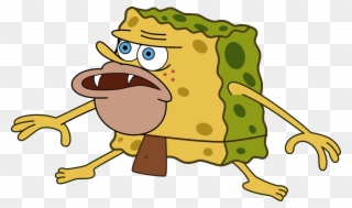 Spongegar Primitive Sponge Caveman Meme Minecraft Skin Meme