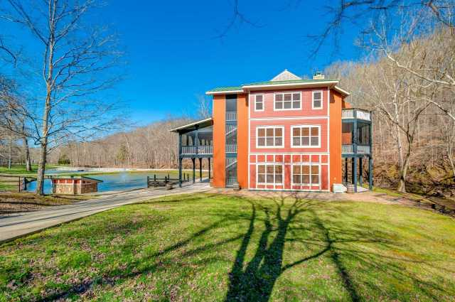 $2,200,000 - 2Br/3Ba -  for Sale in 133 Acres W/ Unique Home, Franklin