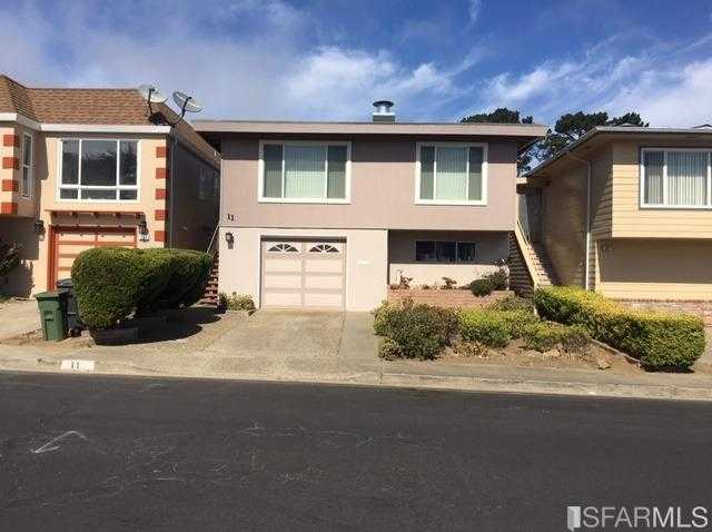 $998,000 - 4Br/2Ba -  for Sale in Daly City