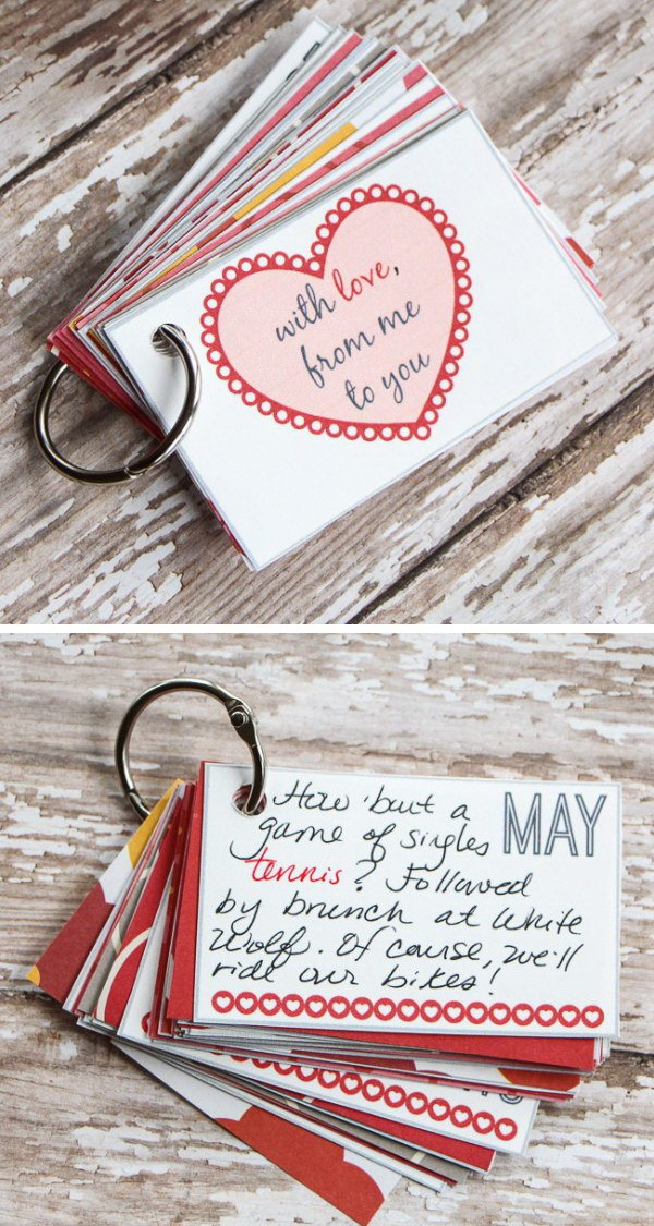 Easy DIY Valentines Day Gifts For Boyfriend Listing More