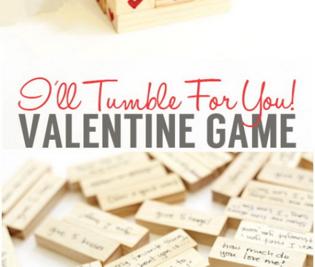 Valentines Day Hearty Tumble Game Another Fun Gift Idea For Your Valentines Day