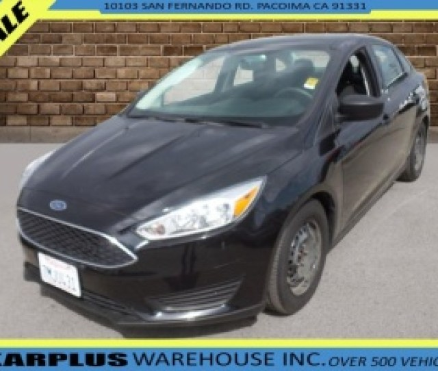 2015 Ford Focus S Sedan For Sale In Pacoima Ca