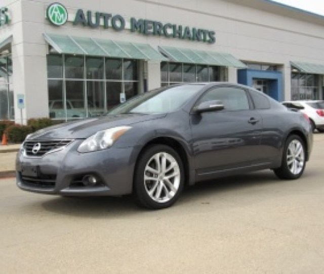 2012 Nissan Altima 3 5 Sr Coupe Manual For Sale In Plano Tx