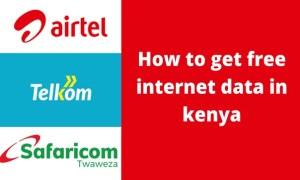 13 ways to get free internet data in Kenya