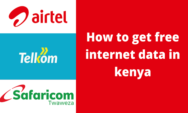 You are currently viewing 13 ways to get free internet data in Kenya