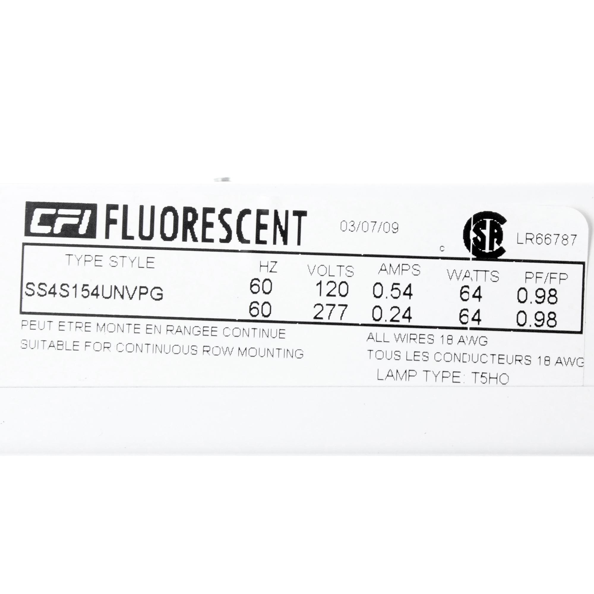 Lightolier Staggered Fluorescent T5ho Strip 4 T5 Light