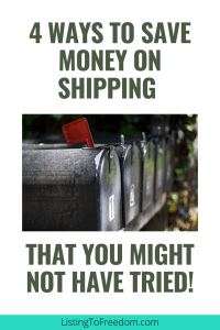 four ways to save on shipping