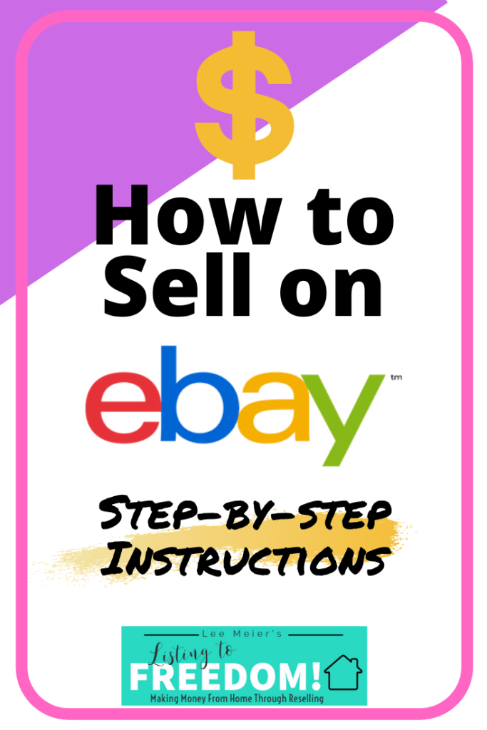 How To Sell On Ebay Step by Step