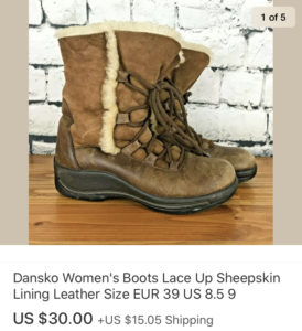 Top sales February 2020 Dansko Sheepskin Boots