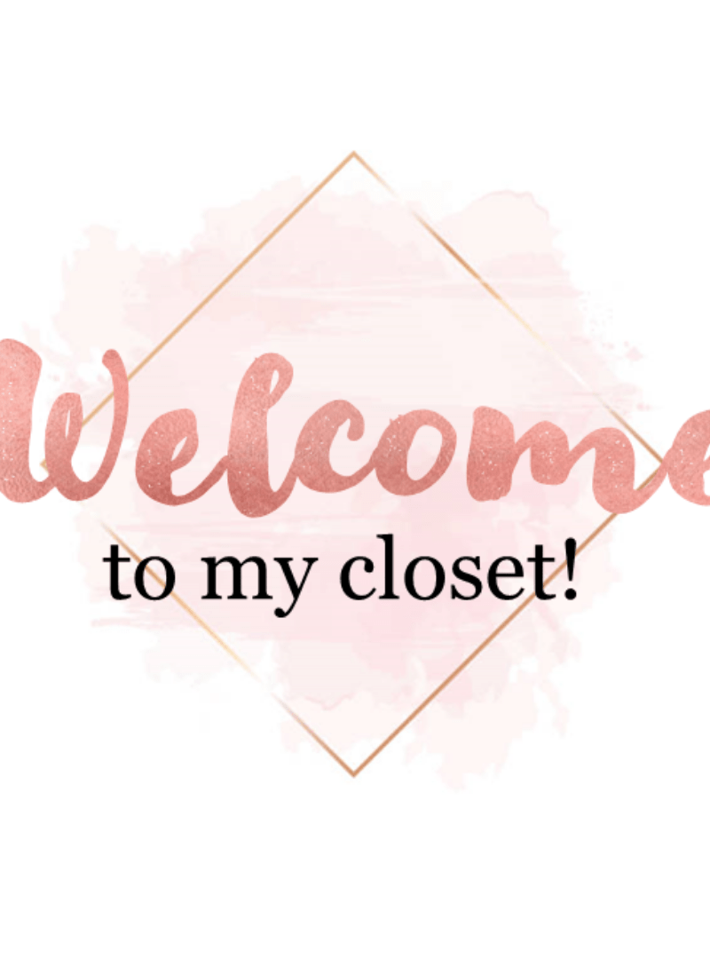 Poshmark Closet Signs (Set of 38) – Metallic Rose Gold Instant Download