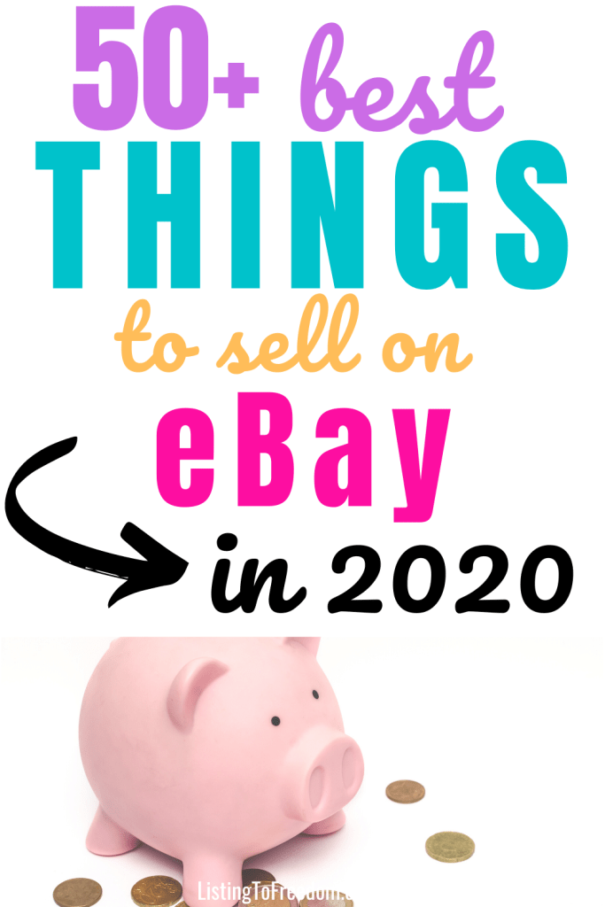 best things to sell on eBay 2020