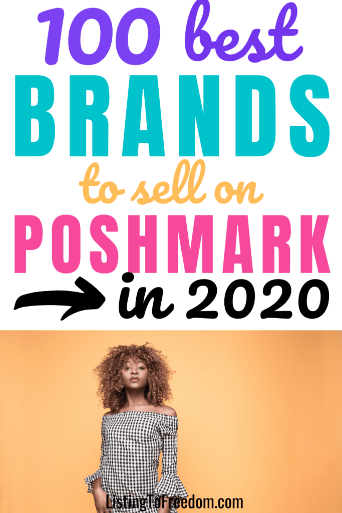 best brands to sell on Poshmark 2020