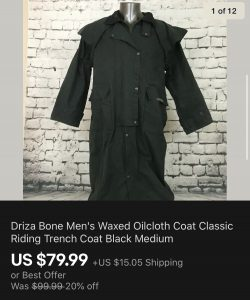 Coat From Goodwill Outlet