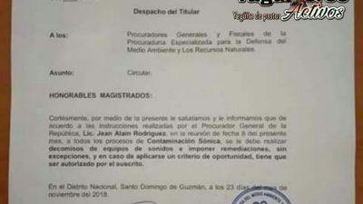 FISCALIA Y MEDIO AMBIENTE QUITARAN MUSICA POR CONTAMINACION SONICA E IMPONDRAN MULTA DE 20,000