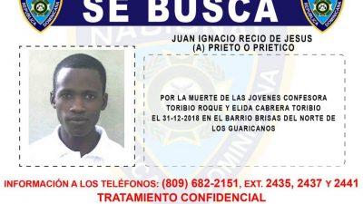 PN busca hombre que mató madre e hija en Los Guaricanos
