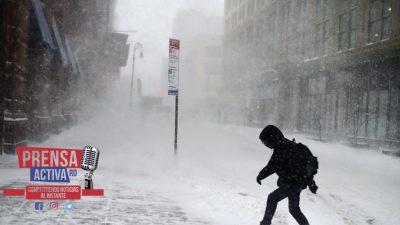 Frío polar para este jueves en NY será similar al de 1901, según pronóstico