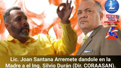Ing. Silvio Durán le quitan la Careta y es Desafiado por el Periodista Lic. Joan Santana.