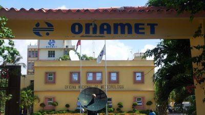"""Onamet: """"chubascos aislados en algunas localidades y condiciones soleadas en el resto de las provincias"""""""