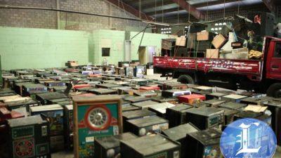 Procuraduría realiza operativos a nivel nacional contra máquinas tragamonedas.