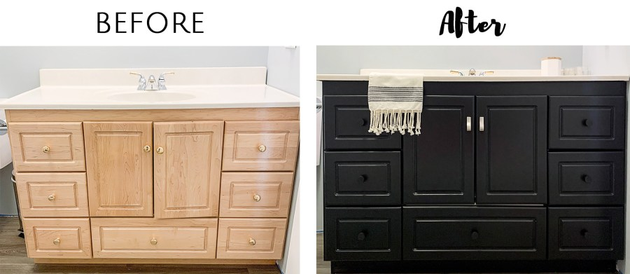 The Easiest Way To Paint Cabinets List In Progress