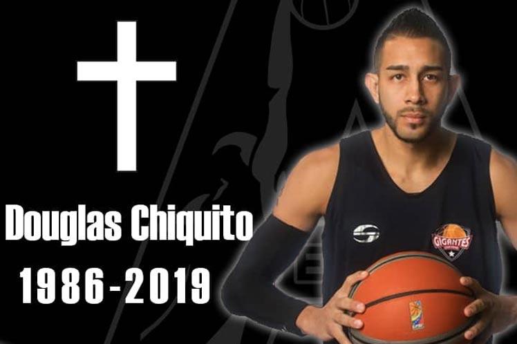Confirman en Venezuela muerte de baloncestista Douglas Chiquito
