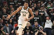 Antetokounmpo anota 41, lleva a Bucks a barrer a los Pistons