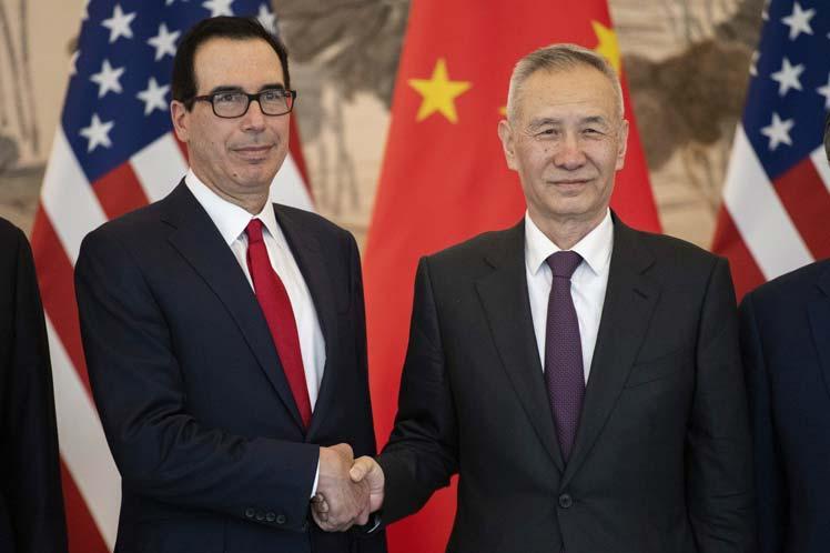 China y EE.UU. revisan temas pendientes de negociaciones comerciales