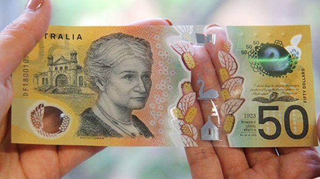 El error tipográfico que descubrieron en 46 millones de billetes de Australia