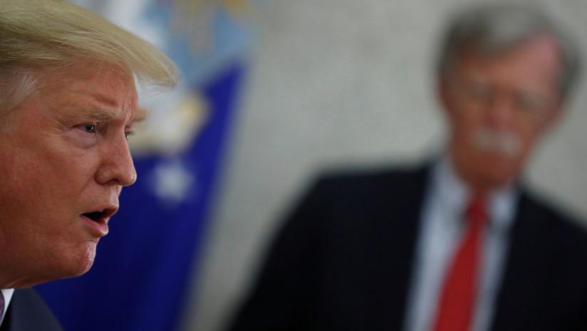 """Analista: """"Trump debe sacar a Bolton de su cargo antes de que estalle la Tercera Guerra Mundial"""""""