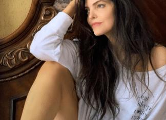 La foto caliente de Ana Bárbara en Instagram con tan solo una camiseta
