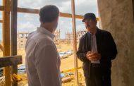 Presidente Medina visita construcción de cárcel Nueva Victoria para constatar avances