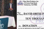 """Empresa dominicana en NY dona 10 mil dólares a """"Fundación David Ortíz"""""""