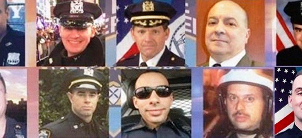 Diez policías NYC han muerto por balas el presente año