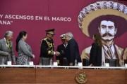 Proclama general Sandoval lealtad militar a presidente López Obrador