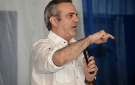 Candidato presidencial del PRM Luis Abinader promete construcción de las presas de Guayubín y Ámina durante su gestión